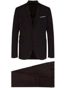 Neil Barrett костюм-двойка узкого кроя PBAB168N011