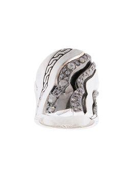 John Hardy кольцо Lahar с бриллиантами RBP440152MDI