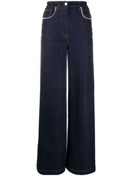 Dolce&Gabbana декорированные джинсы широкого кроя FTBOSZG898Z