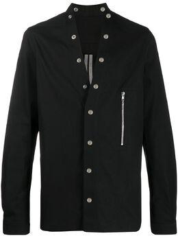 Rick Owens рубашка Larry на кнопках RU20S7287TE