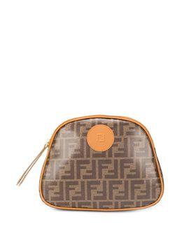 Fendi косметичка с логотипом FF 8N0159A5K4