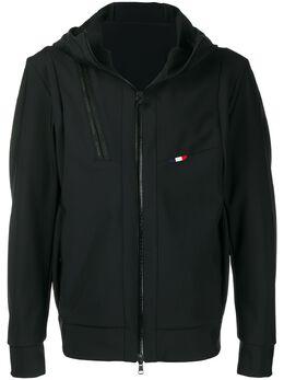 Moncler куртка с капюшоном и логотипом F10911A70500539AX