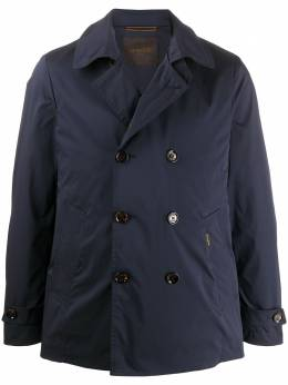 Moorer двубортная куртка с воротником P20M033TAJE