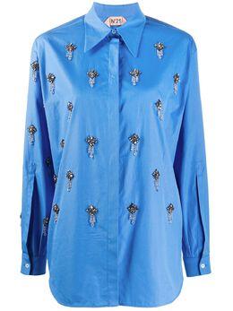 No. 21 рубашка с кристаллами 20EN2M0G0110605