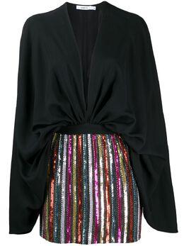 Amen короткое платье с пайетками AMS20446