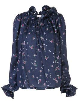 Magda Butrym блузка Key West с цветочным принтом 2135204407