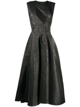Maticevski платье Luther с вырезами DR449019