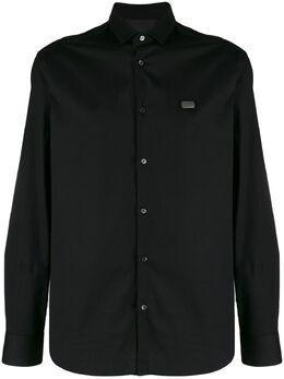 Philipp Plein рубашка с нашивкой S20CMRP1205PTE003N