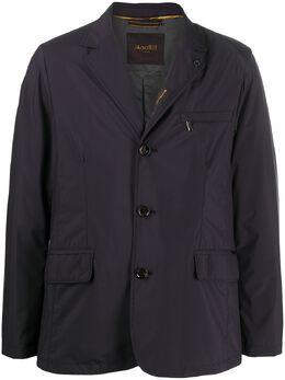 Moorer фактурный пиджак с карманами P20M200STOP