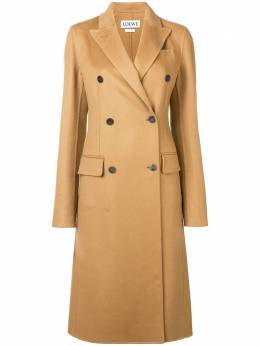 Loewe classic double-breasted coat S2281120PA