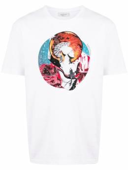 Valentino футболка с принтом Mars TV3MG05B60Y