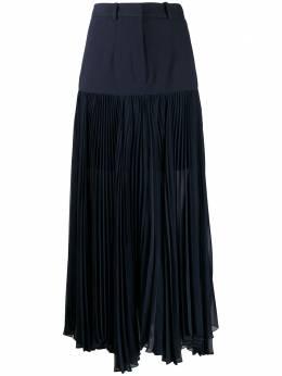 Rokh плиссированная юбка с контрастной вставкой R2CA59VM69