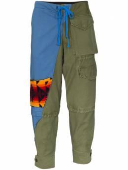 Greg Lauren брюки карго 50/50 SS20M200