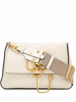 Valentino Garavani маленькая сумка через плечо с декором VRING TW2B0G10MVV