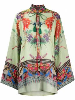 Etro блузка с цветочным принтом 135694414