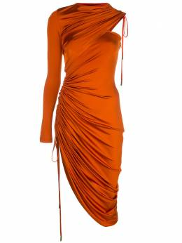 Monse платье с одним рукавом MR200216SLK