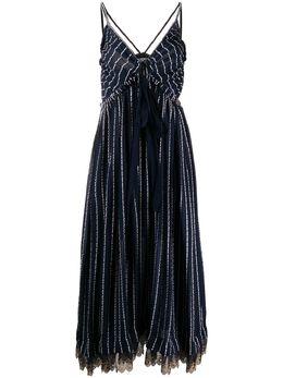 Chloe платье миди в полоску CHC20SRO72311