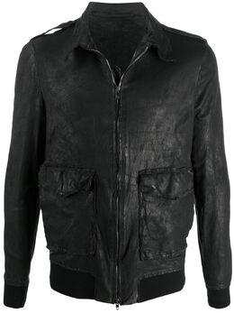 Salvatore Santoro куртка с эффектом потертости 38506U