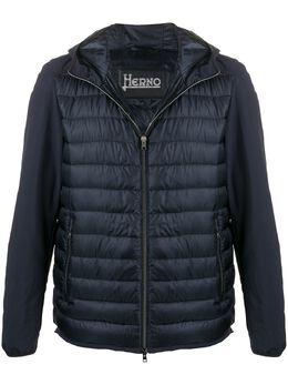 Herno стеганая куртка с капюшоном PI0614U12020
