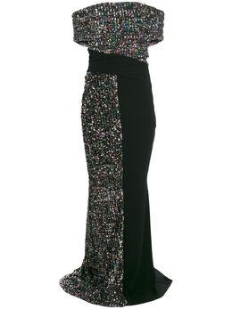 Talbot Runhof платье Bogor BOGOR1FV10