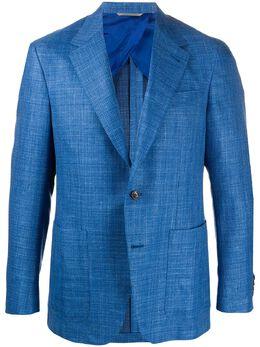 Canali пиджак на двух пуговицах CF0210120272