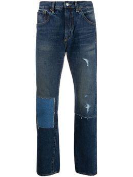 Junya Watanabe Man джинсы с эффектом потертости P203051