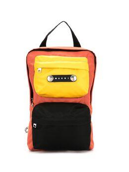 Marni рюкзак со вставками ZAMQ0019U0TN685