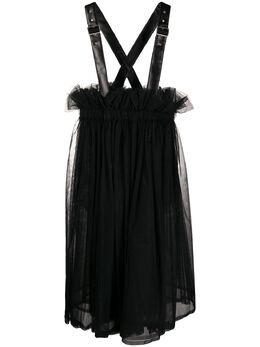 Comme Des Garcons Noir Kei Ninomiya расклешенное платье-сарафан 3EA0060511