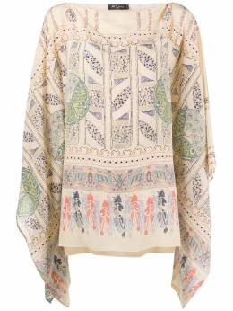 Etro блузка с геометричным принтом 158044615