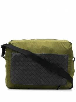 Bottega Veneta сумка-мессенджер с плетением Intrecciato 610013VCQG1