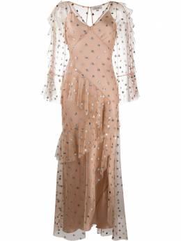Temperley London платье из тюля в горох с блестками 20SKTT53359