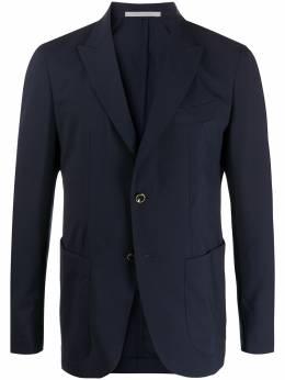 Eleventy пиджак с декоративной строчкой A75GIAA01TES0A132