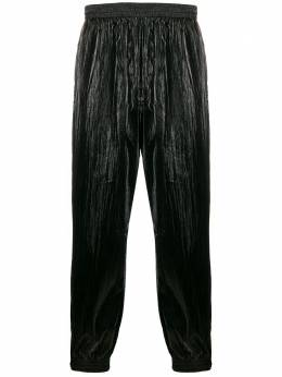 Givenchy блестящие брюки широкого кроя BM50KL12UF