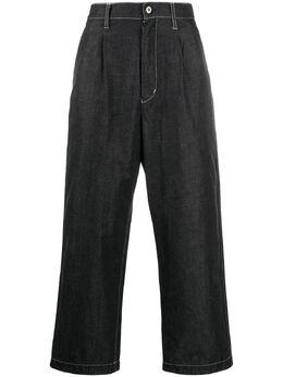 Junya Watanabe Man широкие джинсы с завышенной талией WEP023S20