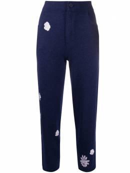 Barrie брюки с цветочным узором C138680
