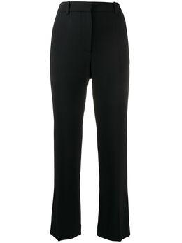 Joseph укороченные брюки прямого кроя с завышенной талией JP000890