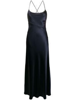 Galvan платье макси Serena 120SEDR0029