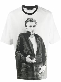 Dolce&Gabbana футболка с принтом James Dean G8LI8ZG7VUZ