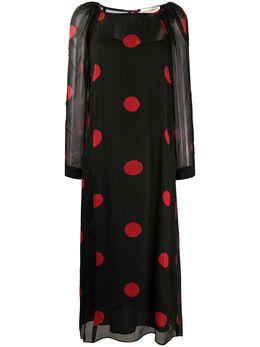 Mara Hoffman платье в горох W011210270