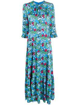Mary Katrantzou платье с цветочным принтом ND001MILLAIS