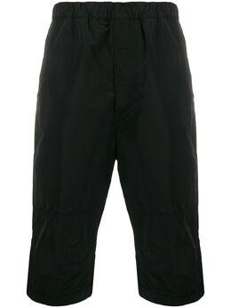 Givenchy длинные шорты с эластичным поясом BM50H712M4