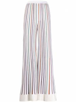 Missoni трикотажные брюки в полоску MDI00219BK00LP