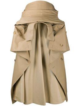 Junya Watanabe юбка Trench Coat со сборками JES001S20