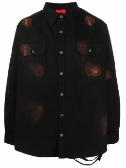 424 рубашка с длинными рукавами и принтом тай-дай 424CPSS200012D