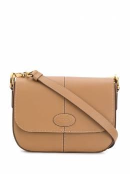 Tod's сумка через плечо с контрастной строчкой XBWDBAJ0100XPAS812