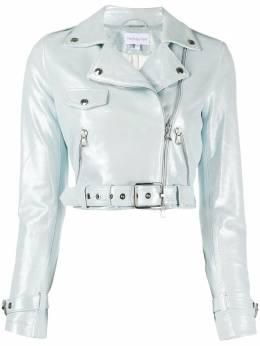 Patrizia Pepe укороченная байкерская куртка 8L0358A373
