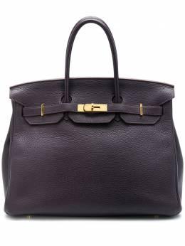 Hermes сумка Birkin 35 2014-го года pre-owned CSSL0220HERB35RAI
