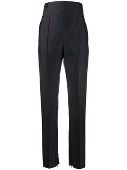 Alexandre Vauthier брюки с завышенной талией и открытым швом 201PA90001921058