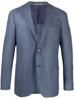 Corneliani однобортный пиджак узкого кроя 85XY720118288