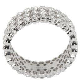 Tiffany & Co. Jazz 2.13 CTW Diamond Platinum Ring Size 54 284618